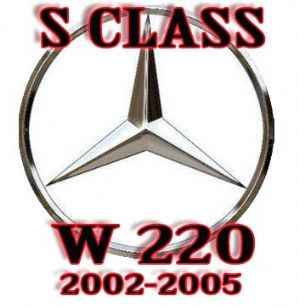MERCEDES S CLASS SRS  W220,PASSENGER AIRBAG  SEAT OCCUPANCY SENSOR ,CHILD RECOGNITION BYPASS